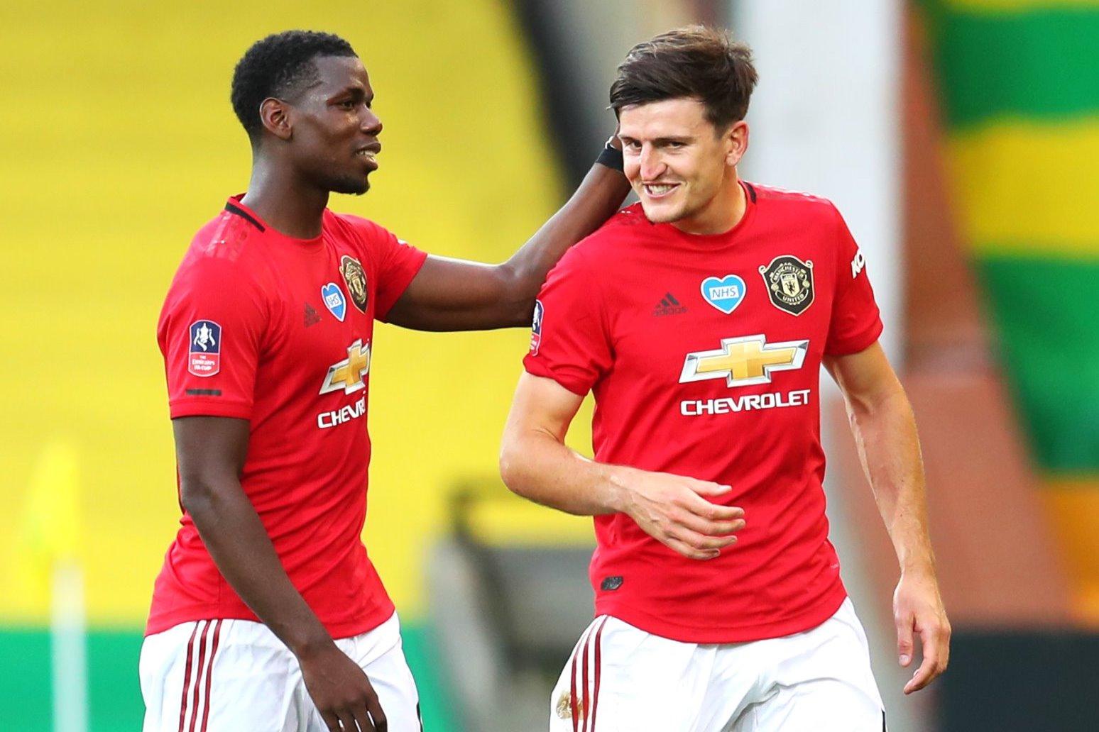 Maguire goal sends United into semi finals