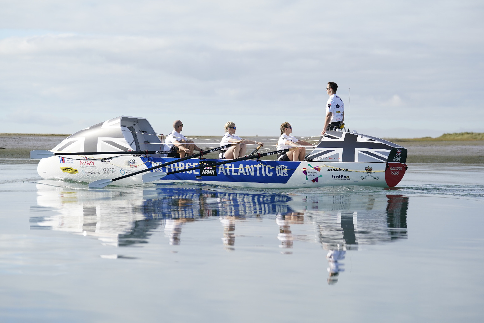 Army trainers prepare for 3,000-mile row across Atlantic